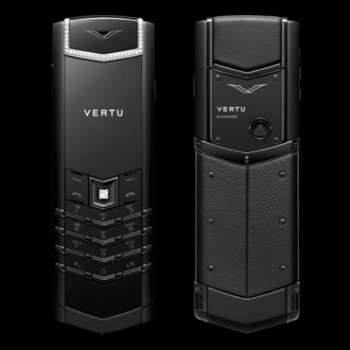 Vertu Signature S Design Pure Black Diamonds